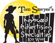 Tom Sawyer Keyboard Advertising